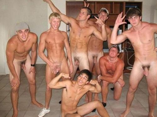 Hombres Desnudos Los Vestidores